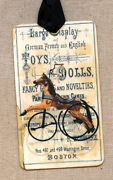Hang Tags Antique Toy Horse Tags Or Magnet 351 Gift Tags