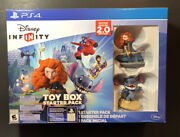 Disney Infinity 2.0 [ Toy Box Starter Pack ] Ps4 New