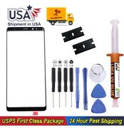Samsung Galaxy Note9 Front Glass Replacement Screen + Uv Glue Tools Kit