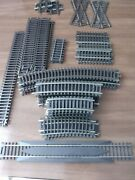 Atlas Ho Code 83 Track Assortment Curved And Straight-39 Pcs-very Lightly Used