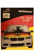 Germany Country Flag With Eagle Car Hood Cover..new