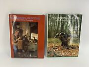 2 Hc Dj William Veasey Blue Ribbon Techniques Books Waterfowl Carving, Painting