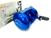 Avet T-rx80/2w Two-speed Lever Drag Reel T-r80/2w Quad - Blue Right Hand - New