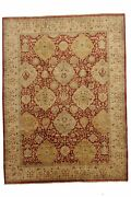 Hand-made 8and03910 X 11and0399 Special Indo Serapi Hand-knotted Wool 9x12 Area Rug