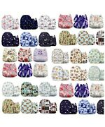 30 Pcs Mama Koala Baby Cloth Diapers Reusable One Size It Comes In Random Colors