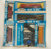 Vintage Ho Scale Varney Ready-to-role Set 1p3 Green Bay Route 309 New Sealed