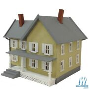 Model Power Built-up Buildings - Lighted W/2 Figures -- Jacksonand039s House