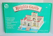 Wooden Knights Castle By Tp Activity Toys Complete Unbuilt New In Box 162