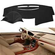 Mat Dash Cover Dashboard Carpet For Toyota Camry 2007 2008 2009 2010 2011 Black