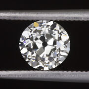 0.84ct Certified G Si1 Old European Cut Diamond Vintage Antique Loose Natural