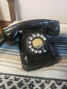 Vintage Antique Stromberg-carlson Table Top Rotary Dial Telephone