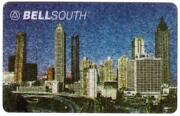 10. And039bellsouthand039 City Skyline Internal Trial For Bellsouth Execs Phone Card