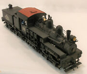 O 2r Sunset Models Brass Geared Logging 3 Truck Wslc Shay 12 Paintd And Weathered
