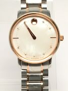 Movado Two Tone Mother Of Pearl 39 3 20 1211 Watch Ap1079948