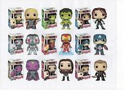 Funko Marvel Avengers 2 Two 3.75 Figure 9pc Set Thor Hulk Ultron Vision And Gang