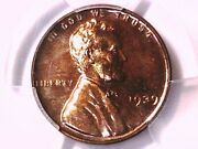 1939 Proof Lincoln Wheat Cent Penny Pcgs Pr 64 Rb 40640710