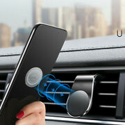 Floveme Magnetic In Car Phone Holder Stand Air Vent Mount For Iphone Lg Samsung