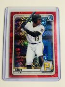 Keandrsquobryan Hayes 2020 Bowman Chrome Prospects Red Shimmer Refractor /10 Bcp-220