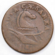 1787 1c New Jersey Colonial Copper Coin