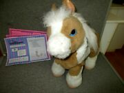 Furreal Friends💖baby Butterscotch-my Magical Show Pony-interactive-15--lot P1