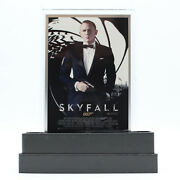 2020 5g 999 Silver Foil Sky Fall James Bond Poster With Stand And Boxandnbsp