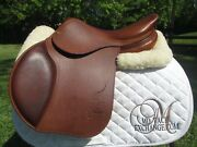 16.5 Delgrange Pj Pro Close Contact Jumping Saddle 2a Flaps- Brand New New