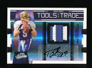 1/1 Drew Brees 2009 Playoff Absolute Tools Of The Trade Prime Patch Auto Saints
