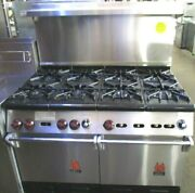 Wolf 48 Range With 6 Burners 2 Standard Ovens Natural Gas