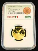 2020 Mexico 1/4 Onza Gold Libertad Ngc Pf 69 Ultra Cameo Key Only 250 Minted
