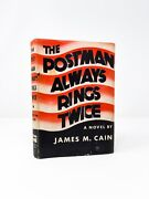 James M. Cain - The Postman Always Rings Twice - First Edition 1934