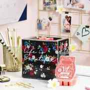 Scentsy Wotm April 2021 Life Is Beautiful Warmer 1 Plumeria Peach Wax Included