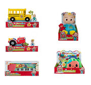 Cocomelon Gift Set Bundle Jj Doll, Keyboard, Tractor, Check Up Box And School Bus