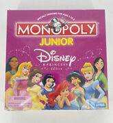 New Monopoly Junior Disney Princess Edition Ages 5 To 8 2004 Hasbro Sealed