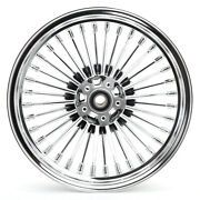 16x3.5 Fat Spoke Front Wheel Rim For Harley Softail Fatboy Heritage 2008-2017