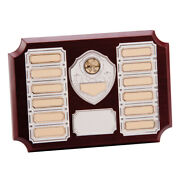 Premier Rosewood Annual Plaque 12 Year Activity Award 7 X 10 - Free Engraving