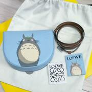Loewe My Neighbor Totoro Limited Collaboration Heel Pouch Shop Bag Set