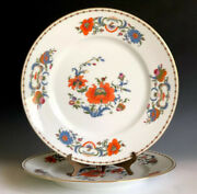 2pcs Ceralene A. Raynaud And Co. Limoges France Vieux China Dinner Plates