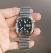 Vintage 1970and039s Longines Ultronic Tuning Fork Chronograph Ref. 2368 All Original