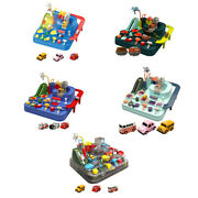 Rail Car Model Toys Educational Toy Adventure Mechanical Track Playsets