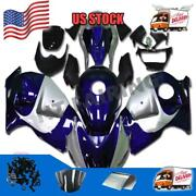 Fit For Suzuki 1997-2007 Gsxr 1300 Injection Plastic Blue Abs Fairing A043