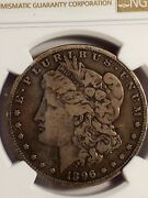 1896 S Morgan Silver Dollar Beautiful Coin Ngc Certified Vg 10 Details Le493