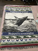 Vintage Whale Tapestry/ Throw Blanket