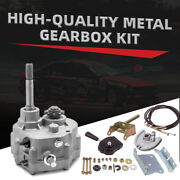 Go Kart Forward Reverse Gearbox Replacement For 2-13hp Engine Transmission