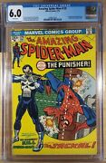 Amazing Spider-man 129 Cgc 6.0 White Pages 1st Appearance Punisher 1974