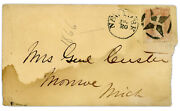 George Armstrong Custer - Ink Signature - Killed At Battle Of Little Bighorn