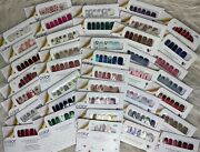 Color Street Rare - Htf - Retired - Holiday Free Accents With Every Purchase