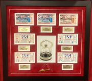 1967 St. Louis Cardinals Boston Red Sox World Series Ticket Complete Set