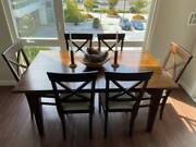 Laura Ashley Dining Set Table + 6 Chairs Andndash Imported From Uk