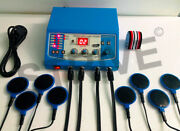 Electrotherapy 4 Channel Physical Therapy With 8 Reusable Carbon Electrodes Bjy