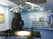 Examination Ot Light Operating Surgical Lamp Dual Color White And Yellow 48+48 Led
